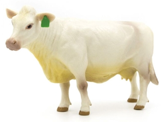 Charolais Cow - SUPER DURABLE construction (1:16), Little Buster Item Number 500258