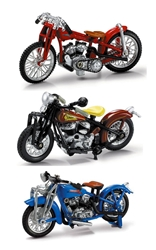 Lil Indian Historical Bikes 1929 Indian Scout 1940 (1:32)