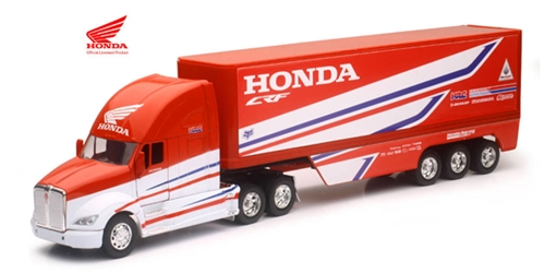 Honda Racing Team - Kenworth T700 Tractor with Race Trailer (1:32), New Ray, Item Number NR10893