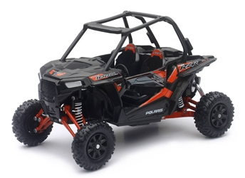 Polaris RZR XP 1000 ATV in Titanium Metallic 1:18 by New Ray Diecast Item Number: NR57593D