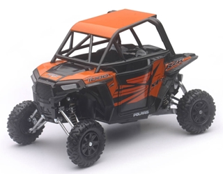 Polaris RZR XP 1000 in Orange Madness (1:18), New Ray, Item Number NR57823