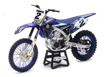 Yamaha Factory Team Bike Cooper Webb 1:12 by New Ray Diecast Item Number: NR57893