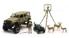 Jeep Wrangler Deer Hunting Playset