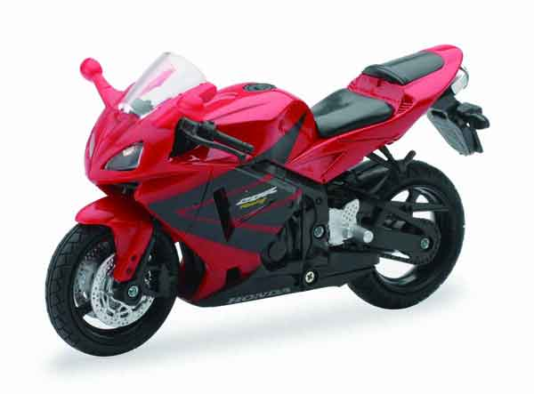 Honda CBR600RR in Red, NewRay Item Number NRAS-67013-C