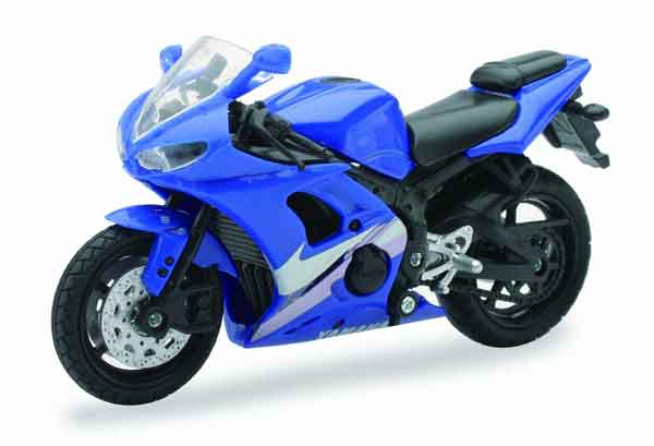 Yamaha YZF-R6 in Blue (1:18), New Ray Item Number NRAS-67013-E