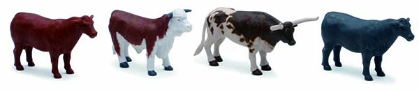 Cow Ranch Set B ( 1:18), NewRay Item Number NRSS-05523B