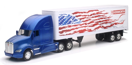 Kenworth T700 and Dry Van (1:32), New Ray, Item Number NRSS-10273G