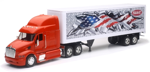 Peterbilt 387 and Dry Van (1:32), New Ray, Item Number NRSS-12343H