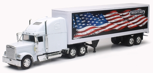 Freightliner Classic XL and Dry Van (1:32), New Ray, Item Number NRSS-12783E