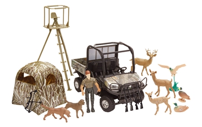 Kubota Hunting Play Set by New Ray Diecast Item Number: NRSS-33253