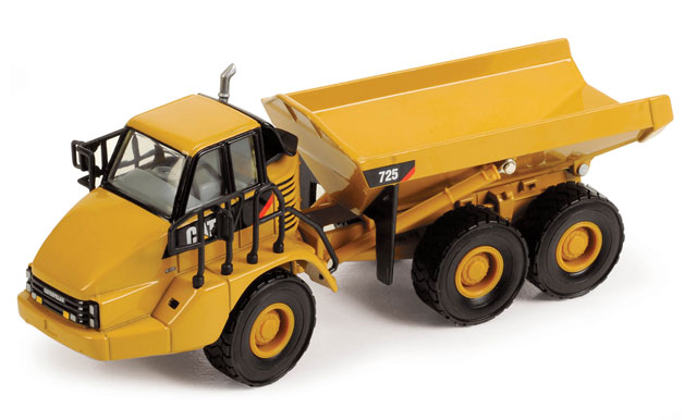 Cat 725d Articulated Truck (1:50), Norscot Diecast Construction Equipment Item Number CAT55073