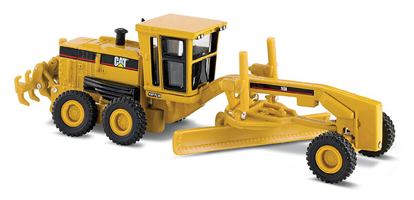 CAT 160H MOTOR GRADER (1:87/Ho Scale), Norscot Diecast Construction Equipment Item Number CAT55127