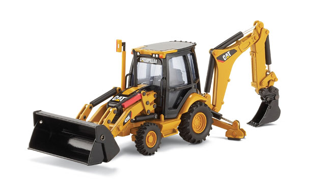 Cat 420e Backhoe Loader (1:50), Norscot Diecast Construction Equipment Item Number CAT55143