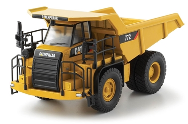 Cat 772 Off-Highway Truck (1:50), Norscot Diecast Construction Equipment Item Number CAT55147