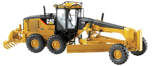 Cat 14m Motor Grader (1:50), Norscot Diecast Construction Equipment Item Number CAT55189