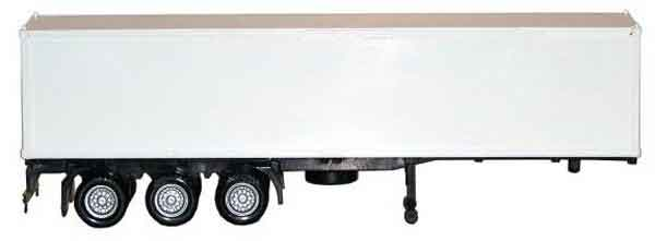 3-Axle Container Trailer with Chassis - 40ft 1:87 by Promotex Item Number: PRX005405