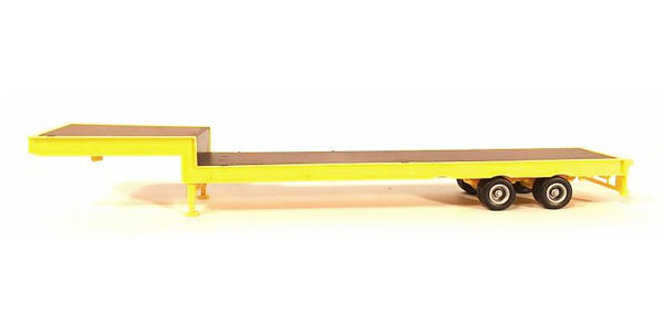 2-Axle Step Deck Equipment Trailer (1:87), Promotex Item Number PRX005483