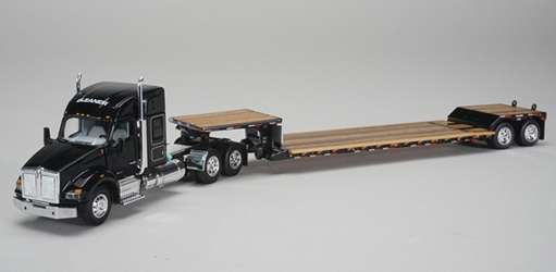 Gleaner - Kenworth T880 Sleeper Cab with Fontain Renegade Lowboy Trailer (1:64), SPEC-CAST, Item Number 30555