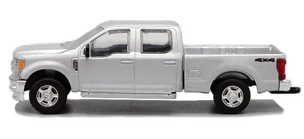 2017 Ford F-350 Pickup Truck in Ingot Silver (1:64), SPEC-CAST, Item Number 52605