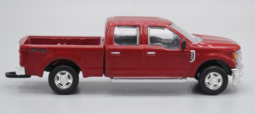 2017 Ford F-350 Pickup Truck in Ruby Red (1:64), SPEC-CAST, Item Number 52606