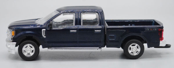 2017 Ford F-350 Pickup Truck in Blue Jeans Metallic (1:64), SPEC-CAST, Item Number 52607