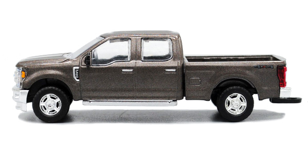 2017 Ford F-350 Pickup Truck in Stone Gray (1:64)