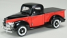 1940 Ford Pickup in Red and Black 1:24 by SPEC-CAST Item Number: 64120