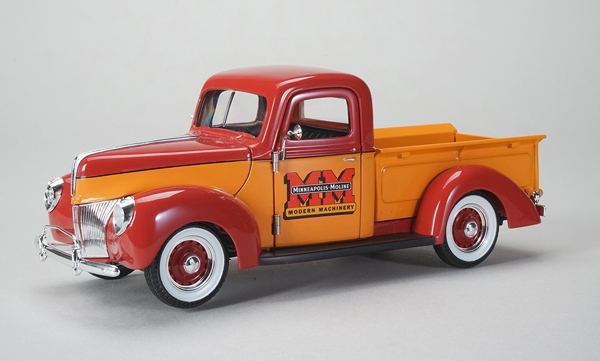 Minneapolis-Moline - 1940 Ford Pickup Truck (1:25), SPEC-CAST, Item Number 64129