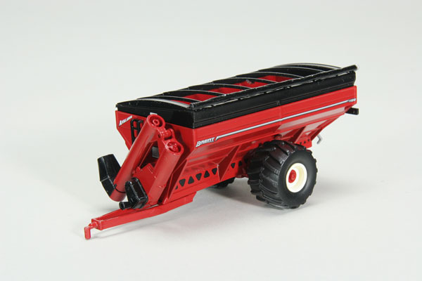 Brent Avalanche 1196 Grain Cart with Flotation Tires in Red (1:64)
