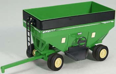 Brent Gravity Wagon in Green with Dual Wheels (1:64)