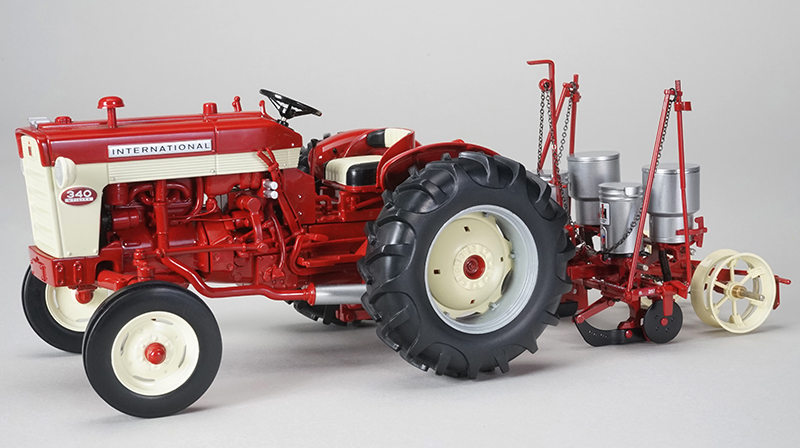 International 340 Narrow Front Tractor with 251 Planter  (1:16), SPEC-CAST, Item Number ZJD-1804