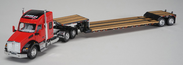 Case IH - Kenworth T880 Sleeper Cab with Fontain Renegade Lowboy Trailer (1:64), SPEC-CAST, Item Number ZJD-1809