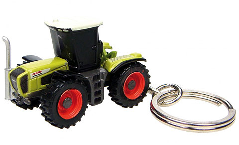 Claas Xerion 3300 Tractor Key Ring, Universal Hobbies Item Number UHB5512