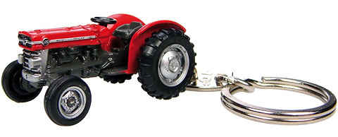 Massey Ferguson 135 Tractor - Key Ring, Universal Hobbies, Item Number UHB5566