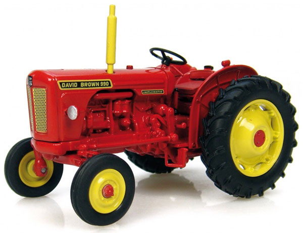 David Brown 990 Implematic Tractor (1:43), Universal Hobbies Item Number UHB6083