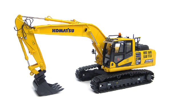 Komatsu PC210LCi-10 Tracked Excavator (1:32) Intelligent Machine Control, Universal Hobbies Item Number UHB8104