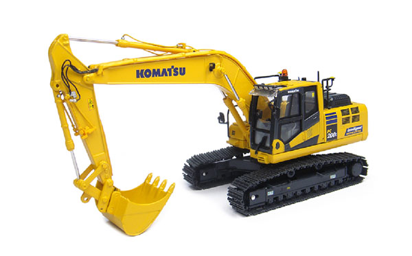 Komatsu PC200i-10 Tracked Excavator (1:32) <br><i>Intelligent Machine Control</i>, Universal Hobbies Item Number UHB8107