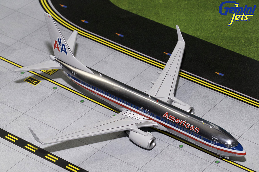 "American Airlines B737-800 Winglets ""Polished"" N921NN (1:200) - Preorder item, order now for future delivery"