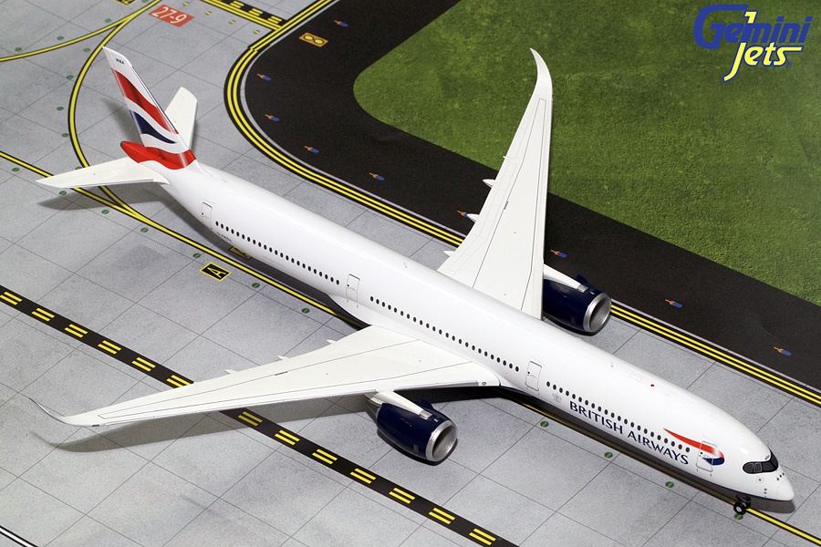 British Airways A350-1000 G-XWBA (1:200) - Preorder item, order now for future delivery