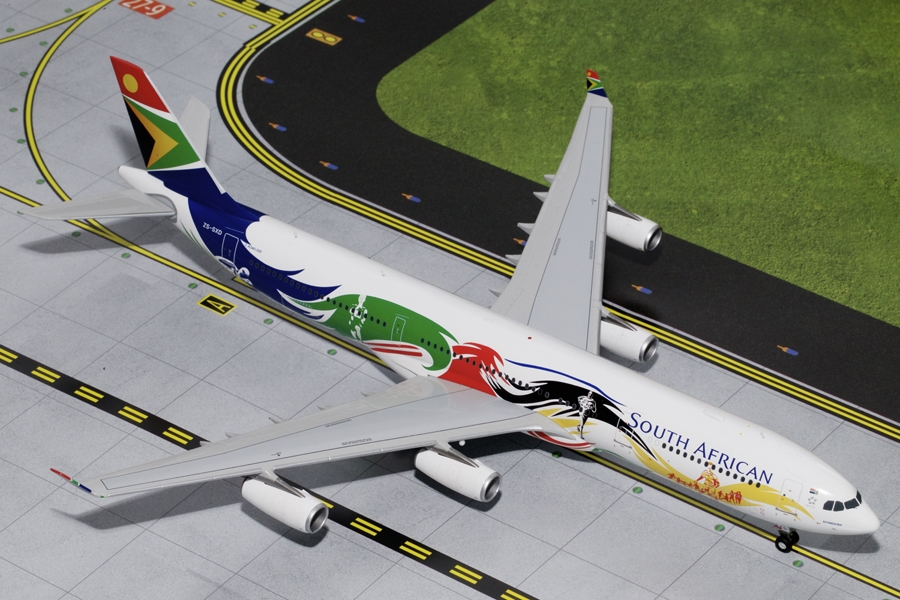 "South African A340-300 ""Olympic Livery"" ""Siyanqoba""