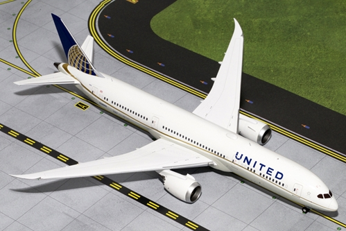 United Airlines B787-9 N38950 (1:200), GeminiJets 200 Diecast Airliners, Item Number G2UAL530