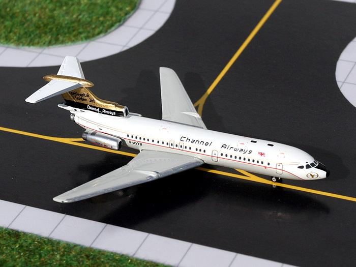 Channel Airways Trident 1E (1:400), GeminiJets 400 Diecast Airliners, Item Number GJCAW772