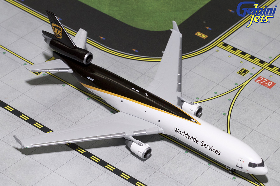 UPS MD-11F N280UP (1:400) - Preorder item, order now for future delivery