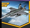 USN F/A-18E VFA-195 CH HO 1:72 by Academy Hobby Plastic Model Kits item number: ACD12565