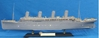 Titanic Prem Ed. w/wood + LED by Academy Hobby Plastic Model Kits item number: ACD14226