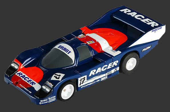 Mega-G Porsche 962 #17, AFX Slot Car Racing Item Number AFX70300