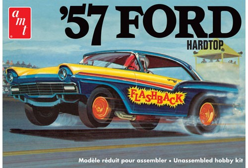 57 Ford Hardtop 1:25, AMT Plastic Model Kits Item Number AMT1010