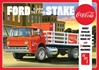 Ford C600 StakeBed w/Coke 1:25 by AMT Plastic Model Kits <p> Item Number: AMT1147