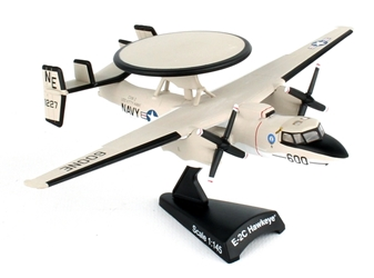 "E-2 Hawkeye US Navy VAW-116 ""Sun Kings"" USS Kitty Hawk (1:145) by Postage Stamp Diecast Planes item number: PS5379-1"