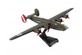 "B-24D Liberator ""Witchcraft"" (1:163) by Postage Stamp Diecast Planes item number: MP5557-3"